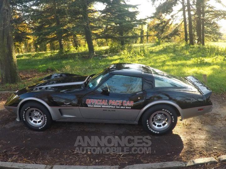 Chevrolet Corvette C3 Indy Pace Car Noir et argent Occasion - 3