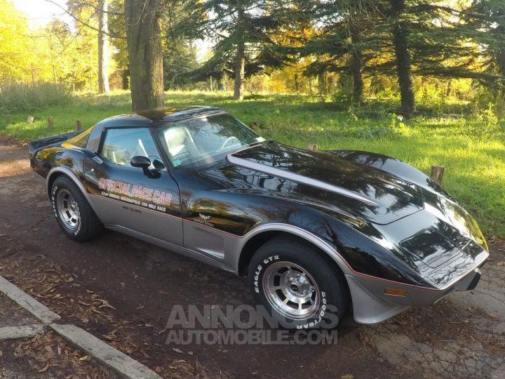 Chevrolet Corvette C3 Indy Pace Car Noir et argent Occasion - 5