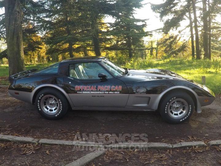 Chevrolet Corvette C3 Indy Pace Car Noir et argent Occasion - 6