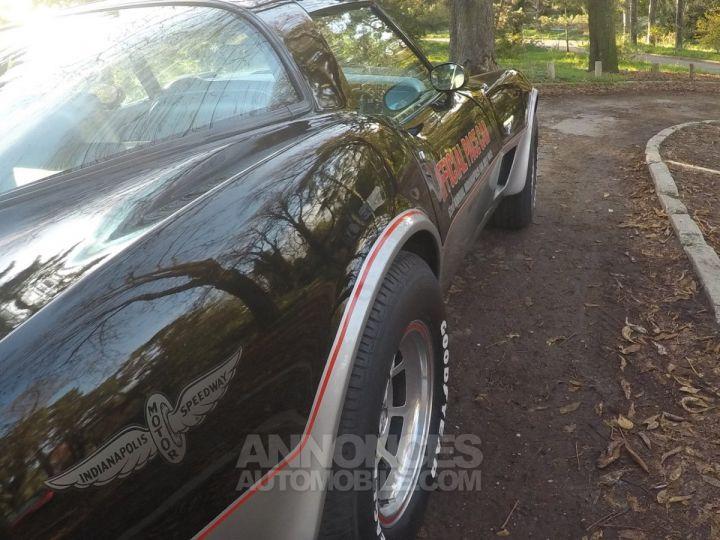 Chevrolet Corvette C3 Indy Pace Car Noir et argent Occasion - 7