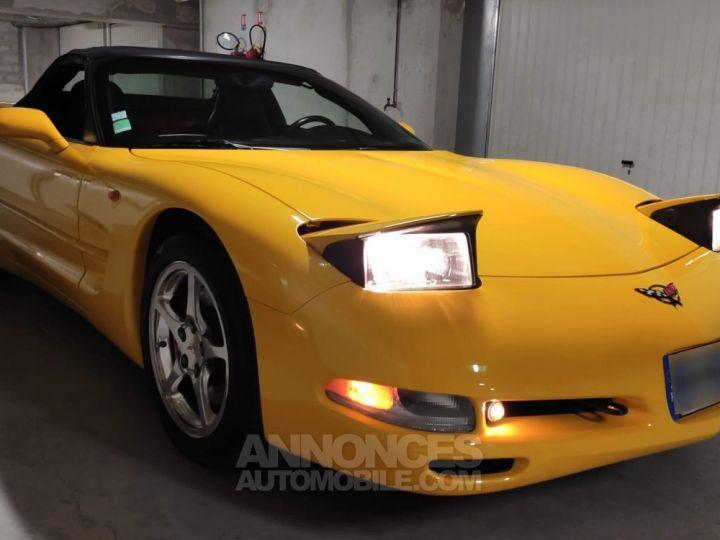 Chevrolet Corvette C5 jaune millénium Occasion - 1