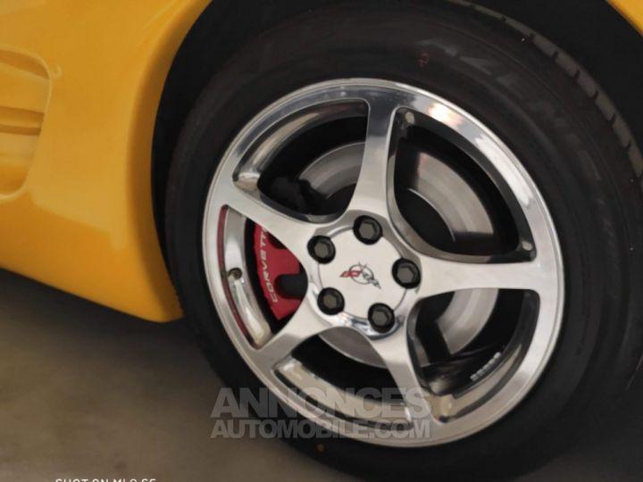 Chevrolet Corvette C5 jaune millénium Occasion - 8