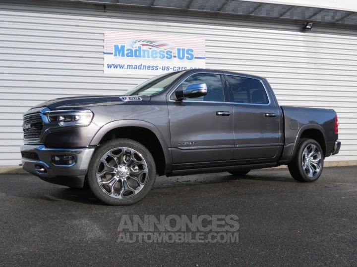 Dodge RAM Ram 1500 Crew Cab Limited 4x4 2019 Granite Crystal Occasion - 1