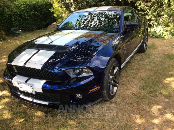 Ford Shelby Bleu bandes blanches Bleu Occasion - 1