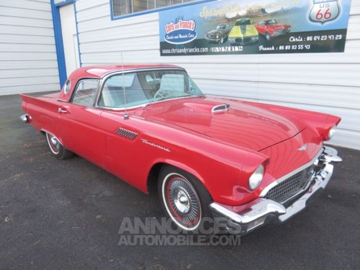 Ford Thunderbird Thunderbird Cabriolet ROUGE Occasion - 2