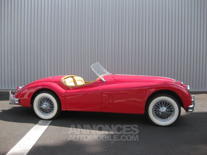 Jaguar XK 140 SE TYPE C ROUGE Occasion - 3