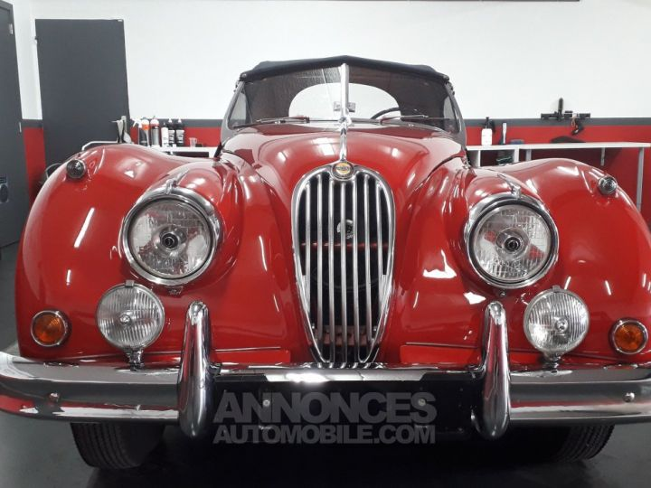 Jaguar XK 140 SE TYPE C ROUGE Occasion - 7