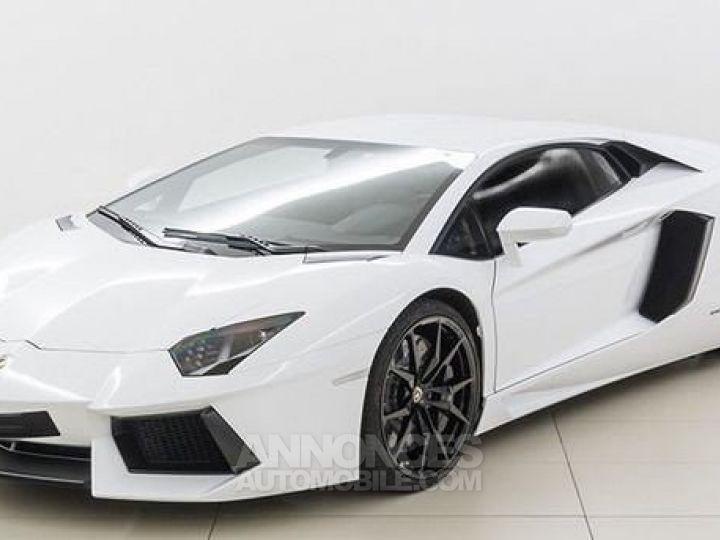 Lamborghini Aventador LP700-4 e-gear  blanc Occasion - 1