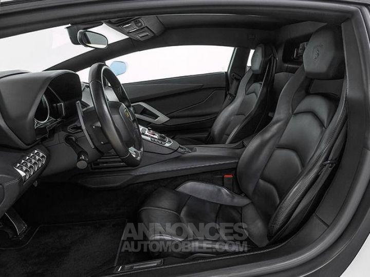 Lamborghini Aventador LP700-4 e-gear  blanc Occasion - 9