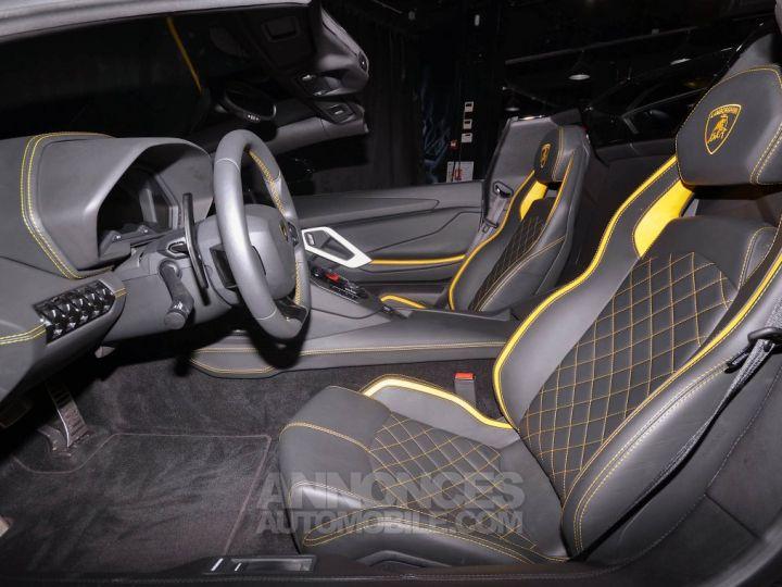 Lamborghini Aventador S Roadster V12 LP 740-4 JAUNE METAL Occasion - 10