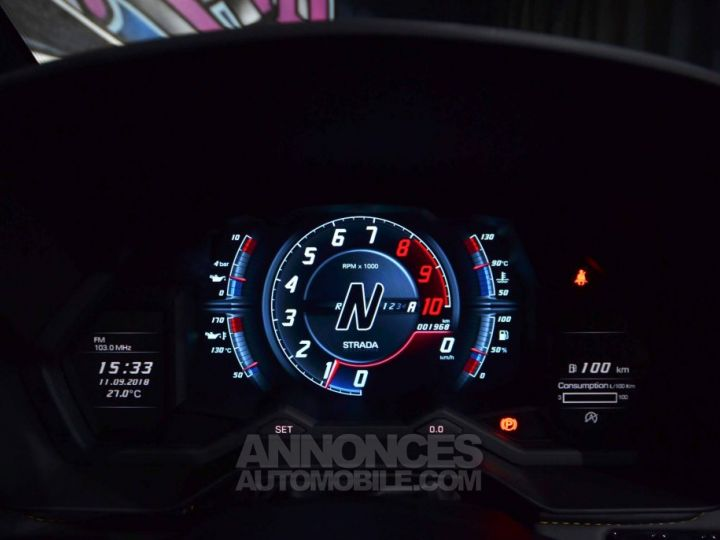 Lamborghini Aventador S Roadster V12 LP 740-4 JAUNE METAL Occasion - 14