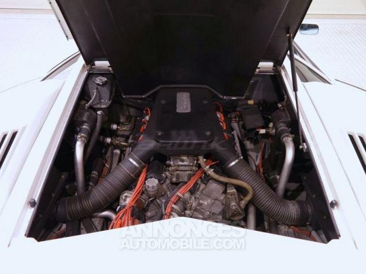 Lamborghini Countach 25th anniversary BLANC Occasion - 7