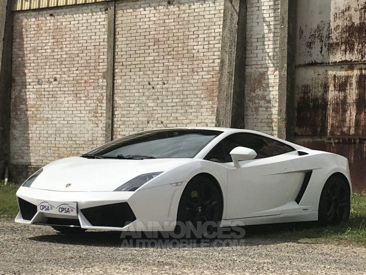 Lamborghini Gallardo lp 560-4 blanc Occasion - 1
