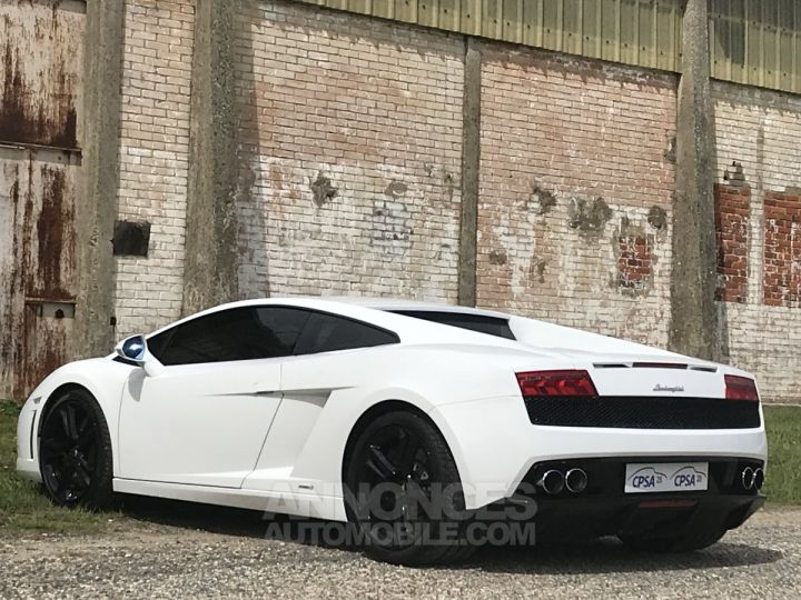 Lamborghini Gallardo lp 560-4 blanc Occasion - 7