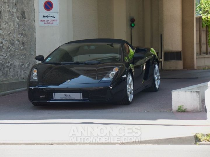 Lamborghini Gallardo Spyder V10 520 E-GEAR NOIR Occasion - 6