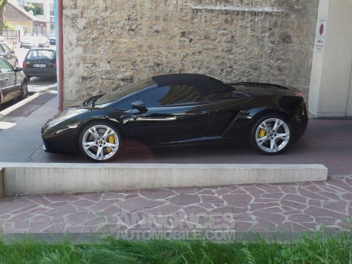 Lamborghini Gallardo Spyder V10 520 E-GEAR NOIR Occasion - 10