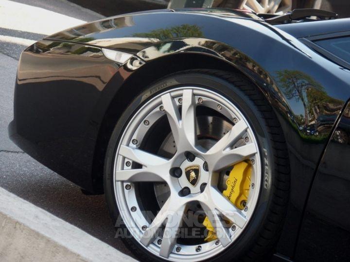 Lamborghini Gallardo Spyder V10 520 E-GEAR NOIR Occasion - 12