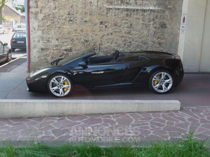 Lamborghini Gallardo Spyder V10 520 E-GEAR NOIR Occasion - 16