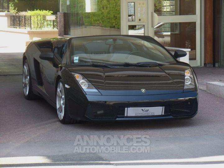 Lamborghini Gallardo Spyder V10 520 E-GEAR NOIR Occasion - 19