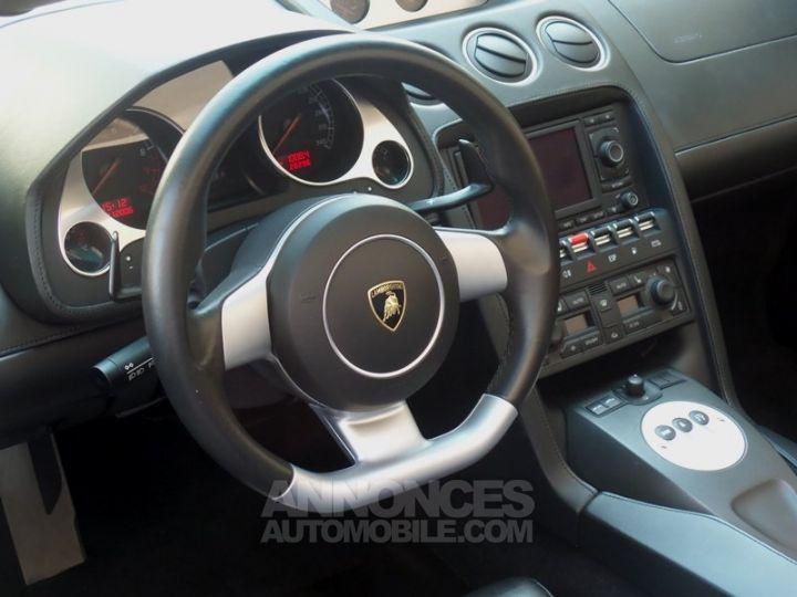 Lamborghini Gallardo Spyder V10 520 E-GEAR NOIR Occasion - 9