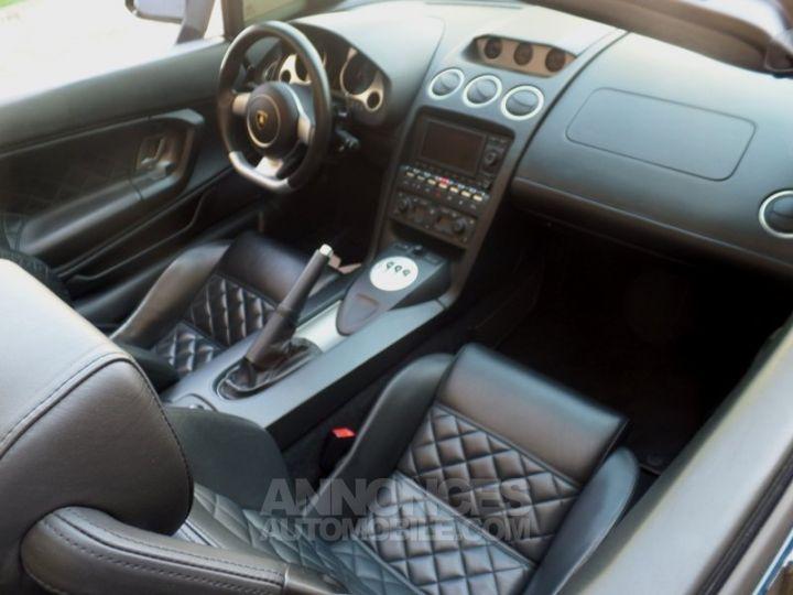 Lamborghini Gallardo Spyder V10 520 E-GEAR NOIR Occasion - 13