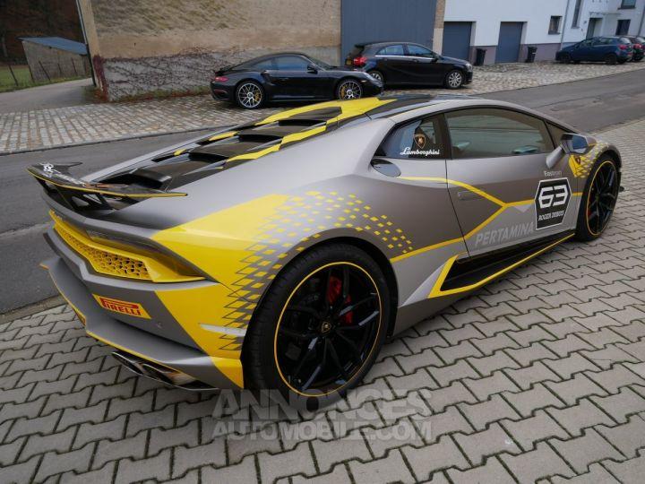 Lamborghini Huracan Coupé LP 610-4, Lift, Magneto, Échappement Sport Bianco Monocerus Occasion - 3