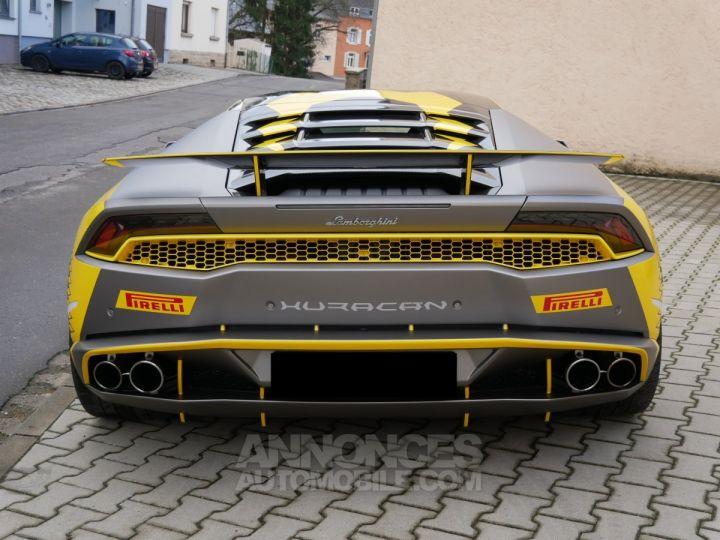 Lamborghini Huracan Coupé LP 610-4, Lift, Magneto, Échappement Sport Bianco Monocerus Occasion - 4