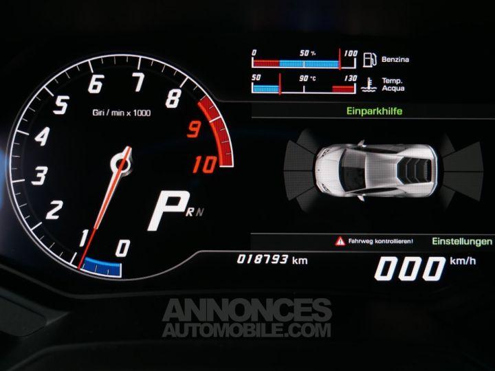 Lamborghini Huracan Coupé LP 610-4, Lift, Magneto, Échappement Sport Bianco Monocerus Occasion - 19