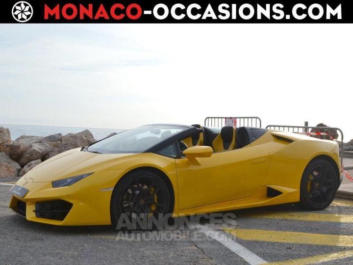 Lamborghini Huracan LP580-2 Giallo Orion Occasion - 1