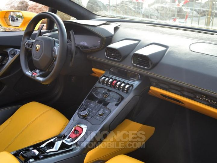 Lamborghini Huracan LP580-2 Giallo Orion Occasion - 12