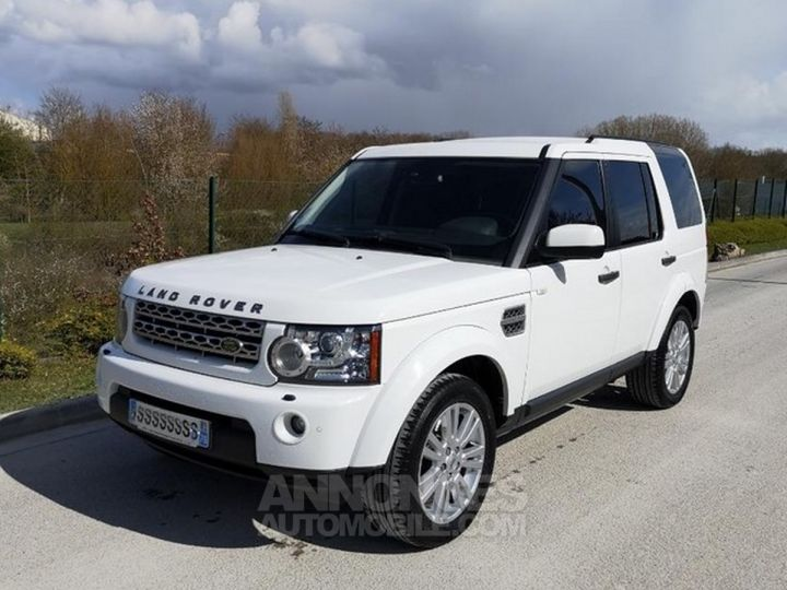 Land Rover Discovery IV TDV6 245 HSE BVA Ill Blanc Occasion - 1