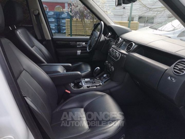 Land Rover Discovery IV TDV6 245 HSE BVA Ill Blanc Occasion - 4