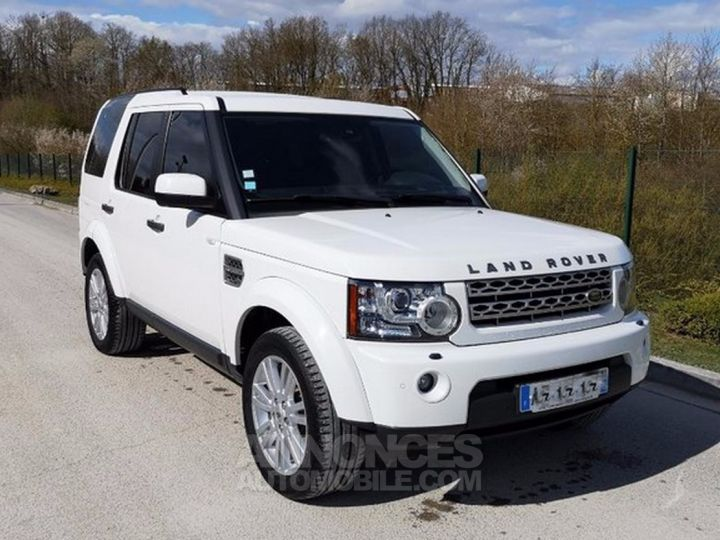 Land Rover Discovery IV TDV6 245 HSE BVA Ill Blanc Occasion - 9