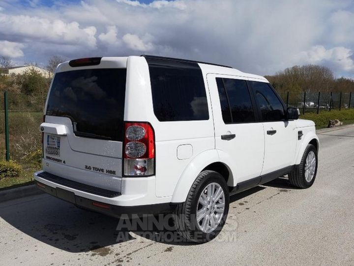 Land Rover Discovery IV TDV6 245 HSE BVA Ill Blanc Occasion - 10