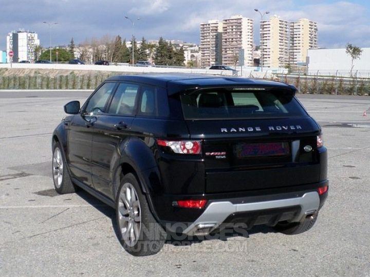 Land Rover Range Rover Evoque SD4 BA9 DYNAMIC NOIR Occasion - 2