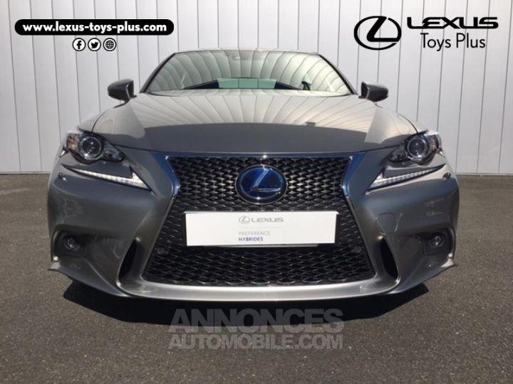 Lexus IS 300h F SPORT Gris Titane Occasion - 3