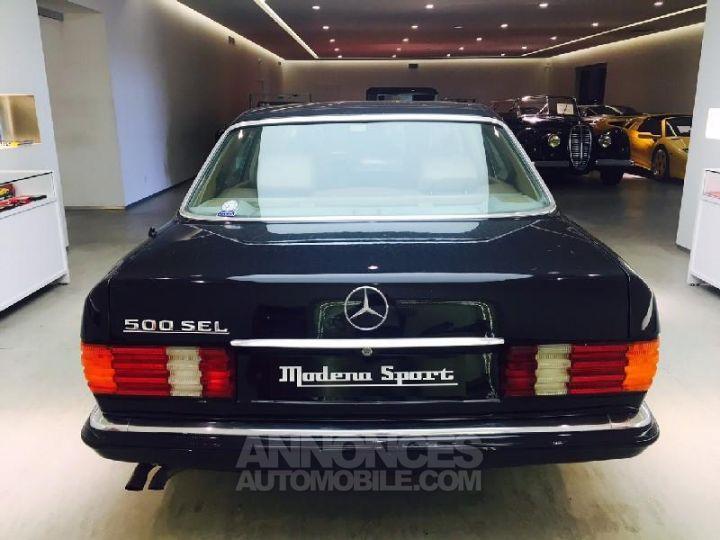 Mercedes 500 SEL Bleu Occasion - 4