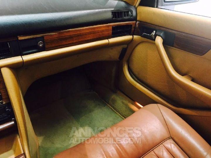 Mercedes 500 SEL Bleu Occasion - 12