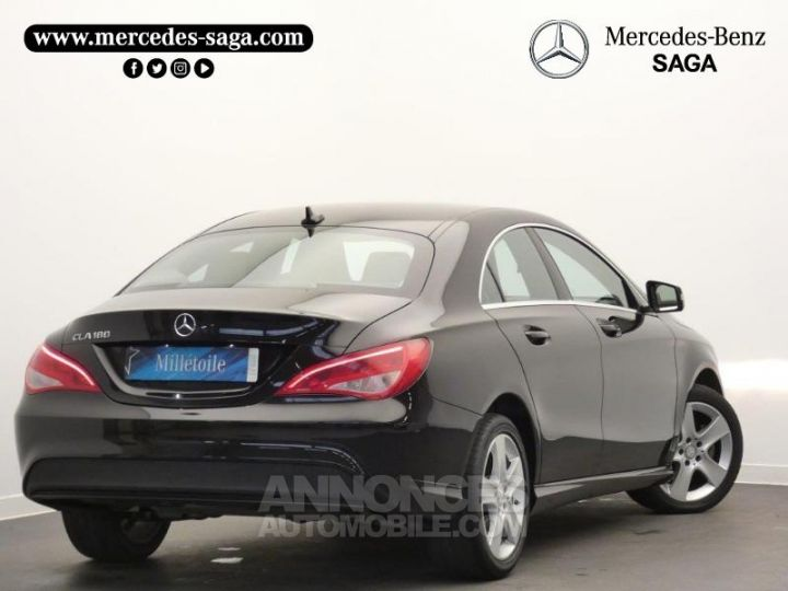 Mercedes CLA 180 Inspiration Noir Occasion - 2