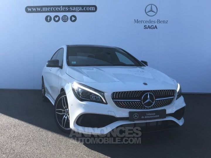 Mercedes CLA 220 d Fascination 7G-DCT BLANC POLAIRE Occasion - 1
