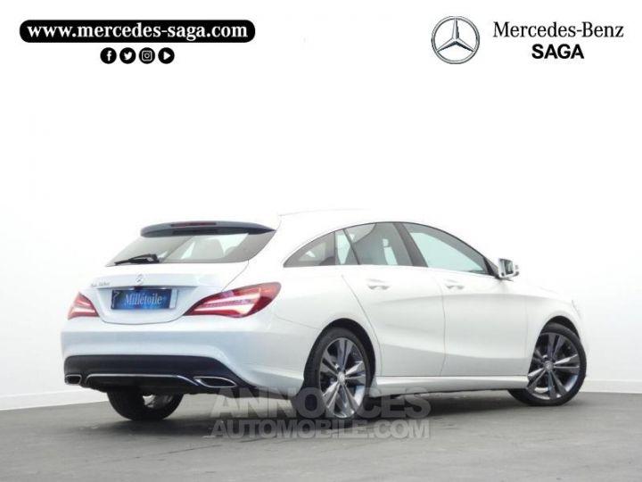 Mercedes CLA Shooting Brake 180 d Sensation Blanc Cirrus Occasion - 2