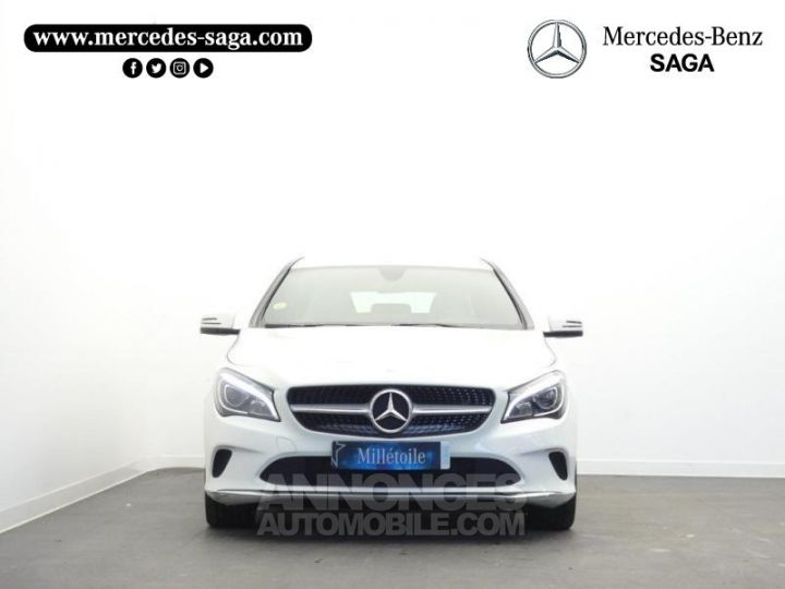 Mercedes CLA Shooting Brake 180 d Sensation Blanc Cirrus Occasion - 5
