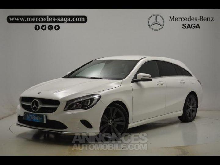Mercedes CLA Shooting Brake 200 d Sensation 7G-DCT Blanc Occasion - 1