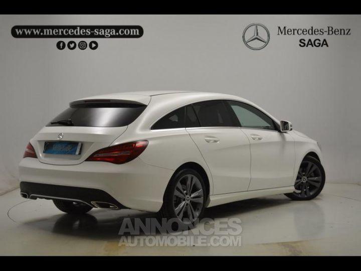 Mercedes CLA Shooting Brake 200 d Sensation 7G-DCT Blanc Occasion - 2
