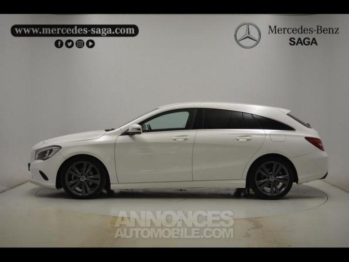 Mercedes CLA Shooting Brake 200 d Sensation 7G-DCT Blanc Occasion - 9
