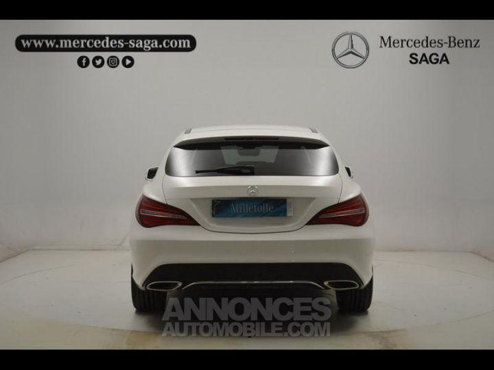 Mercedes CLA Shooting Brake 200 d Sensation 7G-DCT Blanc Occasion - 11