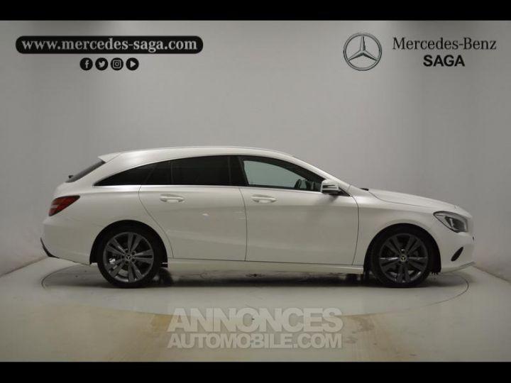 Mercedes CLA Shooting Brake 200 d Sensation 7G-DCT Blanc Occasion - 13