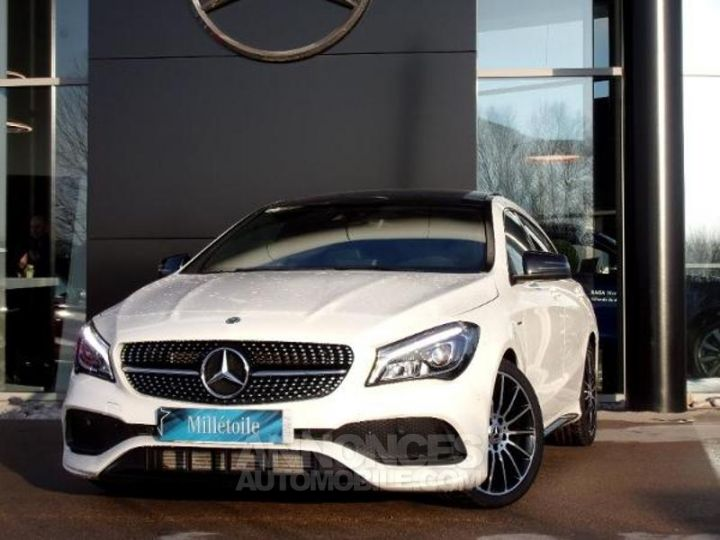 Mercedes CLA Shooting Brake 200 d WhiteArt Edition 7G-DCT Blanc Cirrus Occasion - 1