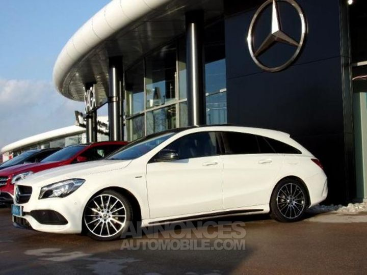 Mercedes CLA Shooting Brake 200 d WhiteArt Edition 7G-DCT Blanc Cirrus Occasion - 10