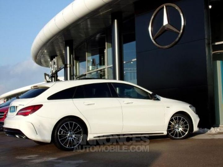 Mercedes CLA Shooting Brake 200 d WhiteArt Edition 7G-DCT Blanc Cirrus Occasion - 11
